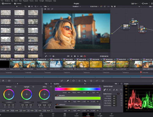 Davinci Resolve najlepszy program do edycji video.